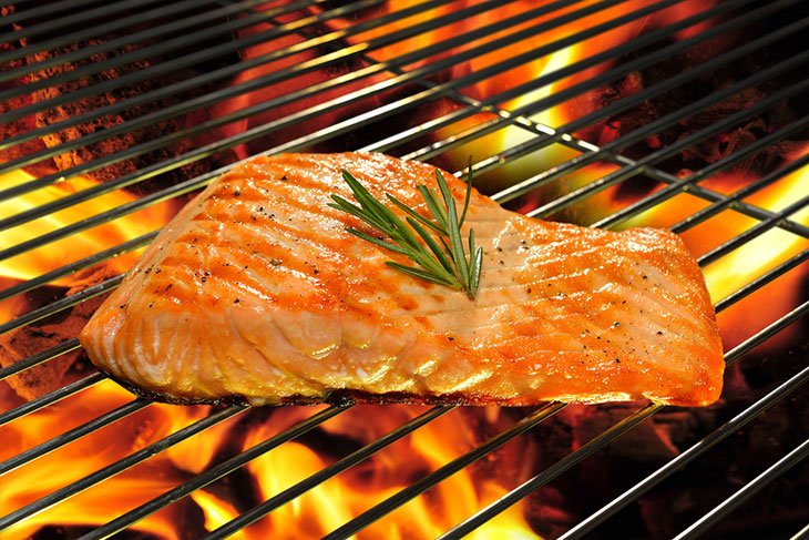 how to cook frozen salmon on george foreman grill