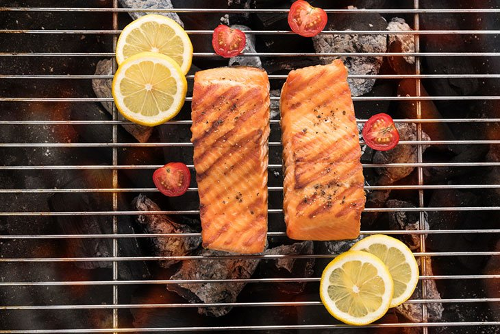 how to cook salmon on george foreman grill