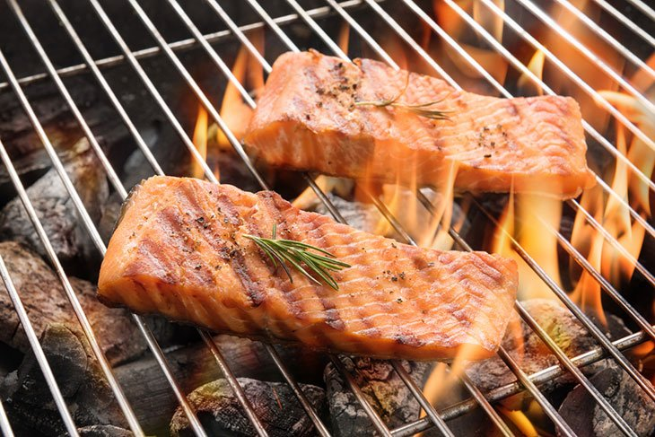 how to cook salmon on a george foreman grill